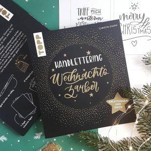 Buch Handlettering Weihnachtszauber